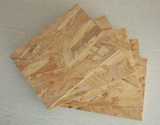 No Formaldehyde Oriented Strand Board 3 With High Density Emission Customized Size